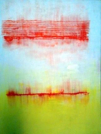 40x30 inches oil & acrylic on canvas