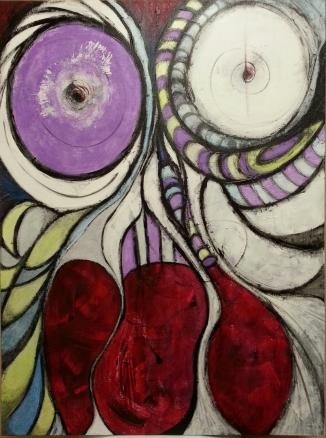 30 x 40, acrylic on canvas